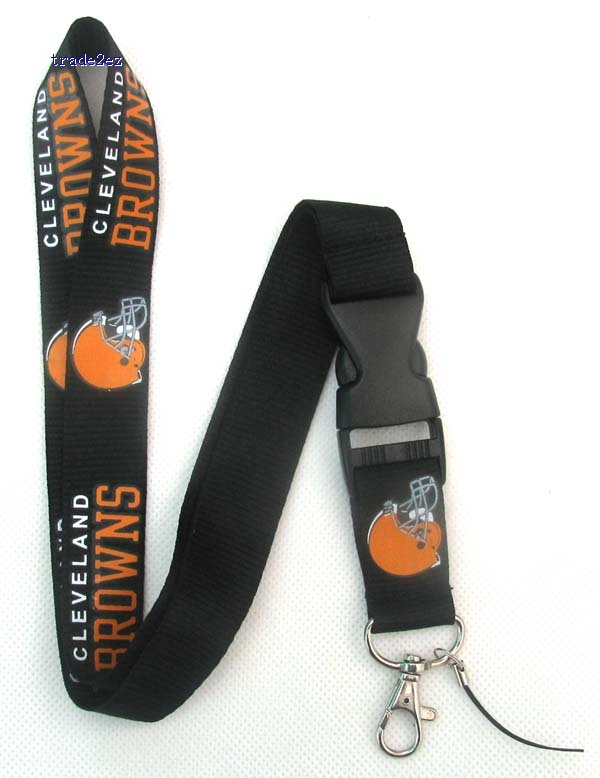 Cleveland Browns Lanyard Cell Phone Key Id Neck Strap Hange tape