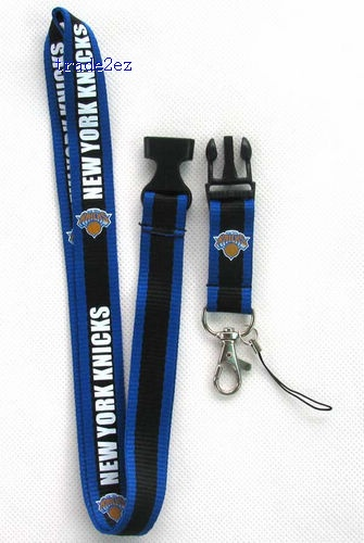 New York Knicks PHONE LANYARD KEYS ID NECK STRAPS