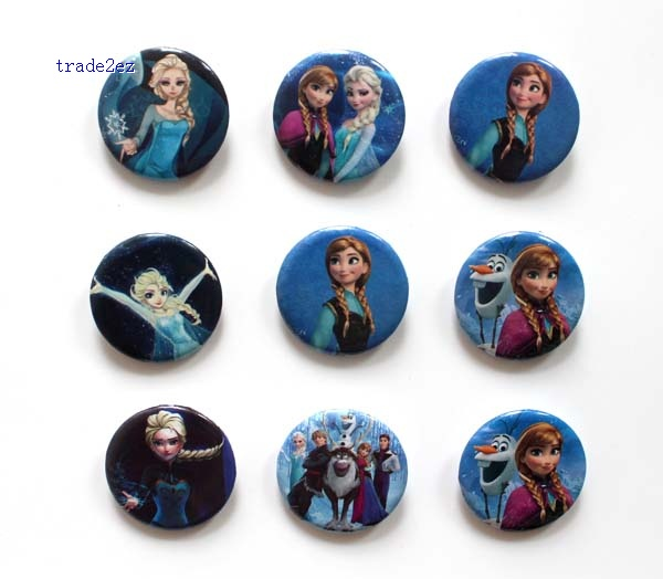 frozen 2.5cm badge