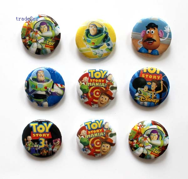 Toy story 2.5cm badge