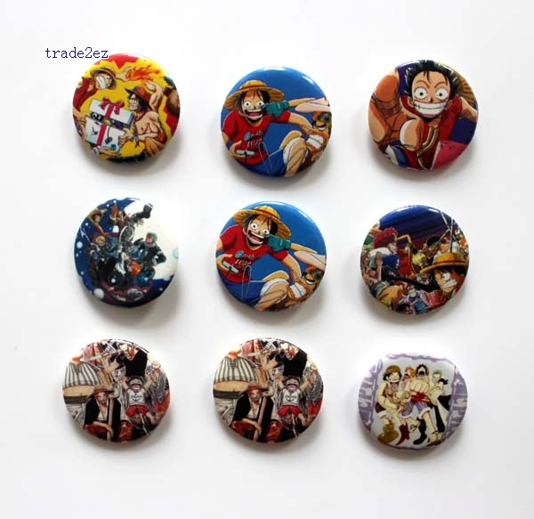 ONE PIECE  2.5cm badge