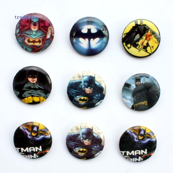 badge 2.5cm batman new
