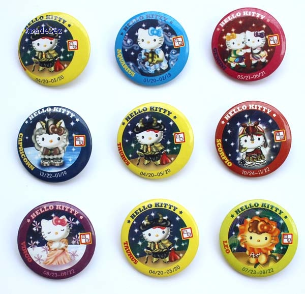 Hello Kitty 3 cm badge
