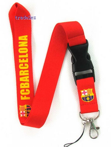 FCBarcelona PHONE LANYARD KEYS ID NECK STRAPS