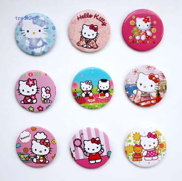 Hello Kitty 4.5 cm badge Fashion