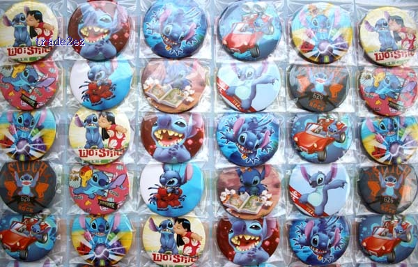Stitch 4.5 cm badge