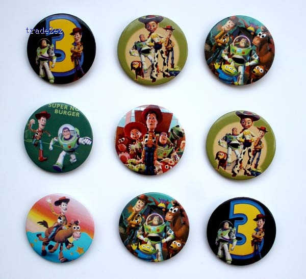 Toy story 4.5 cm badge