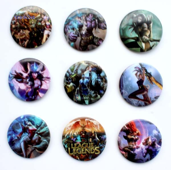 league of legends 4.5cm badge