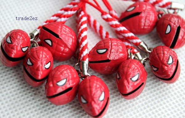red spider man ring