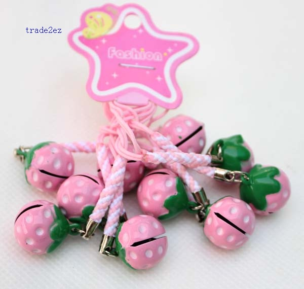 Strawberry ring bell pink