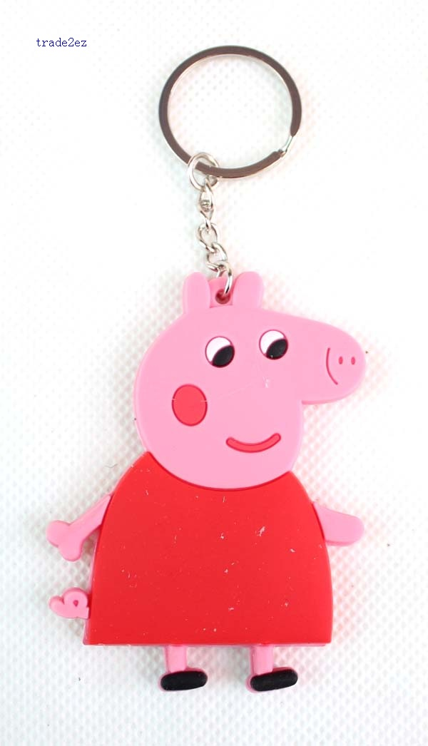 peppa pig key chain