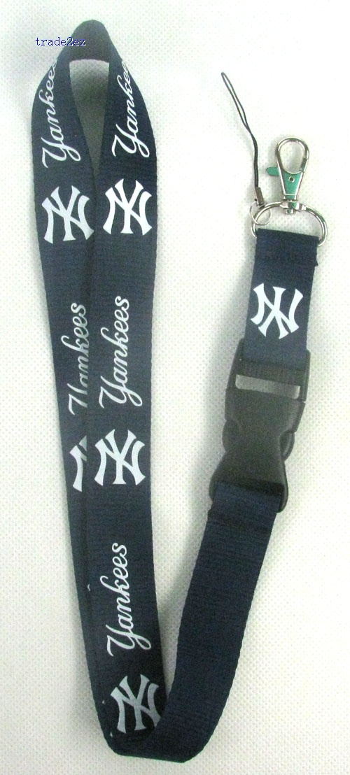 NewYorkYankees MOBILE PHONE LANYARD / KEYS ID NECK STRAP