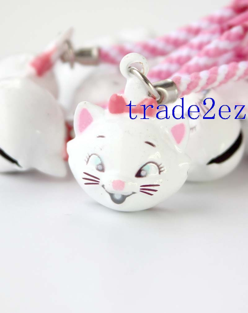 Disney Marie Cat Strap & Bell Charms 2-Style
