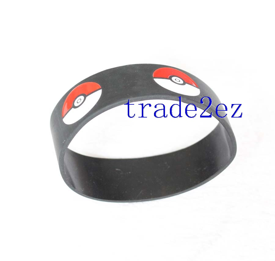 Pokemon Pikachu Poké Ball silicone wristbands