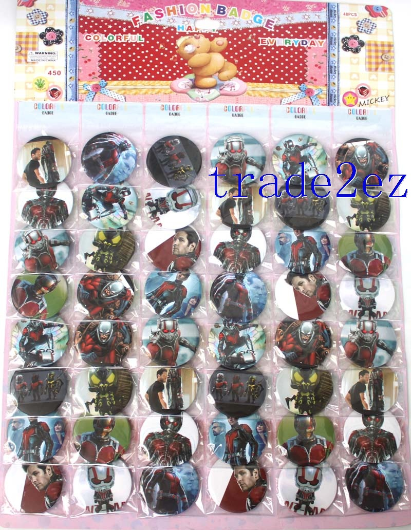 Marvel Comics Character Ant-Man 4.5cm badge Badge & Buttons
