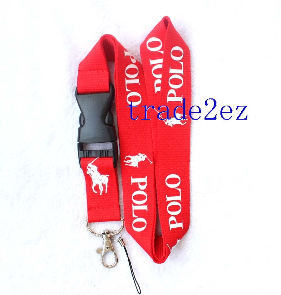 Polo Lanyard Red