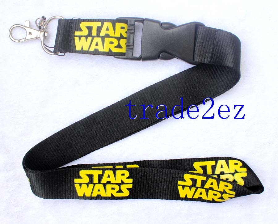 Star Wars Lanyard Black Yellow