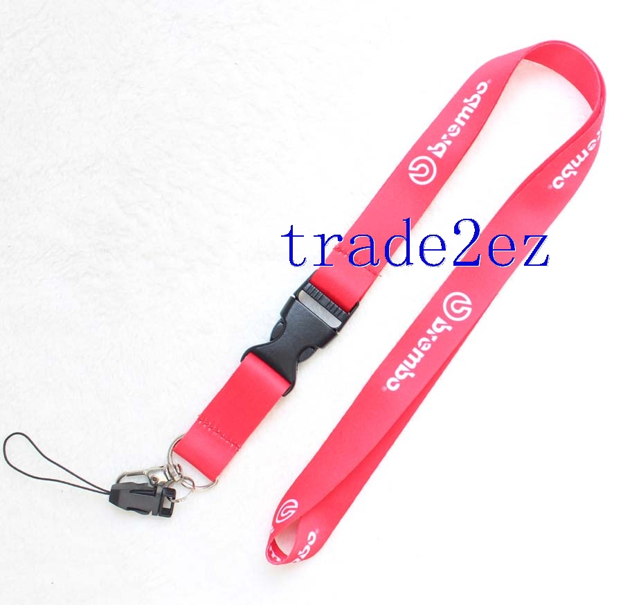 Brembo Lanyard Strap Keychain RED
