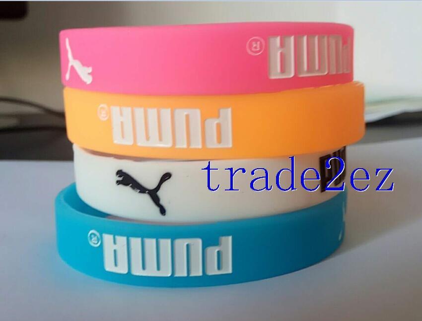 PUMA Wristband Silicone Bracelet