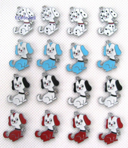 dalmatian Metal Charms pendants DIY Jewellery Making