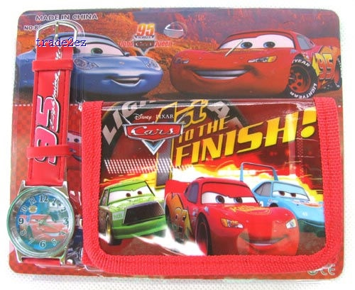 Pixar Car 95 ove watch Wristwatches and purses Wallet