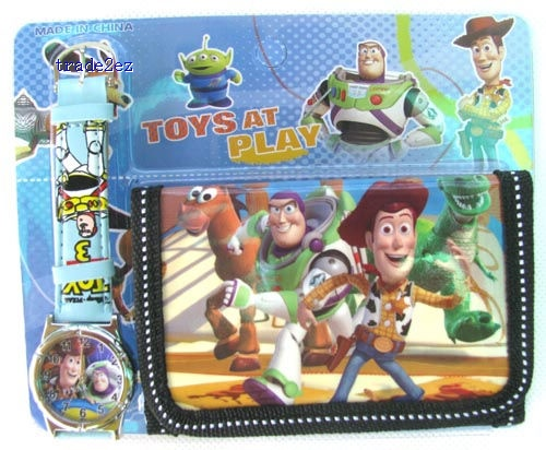Toy Story love watch Wristwatches and purses Wallet