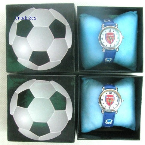 ArsenalFootballClub Cartoon Girls Kids Children Wrist Watch Gift