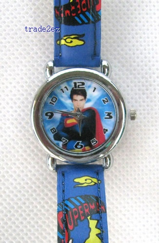 Superman Cartoon Quartz Wrist watch