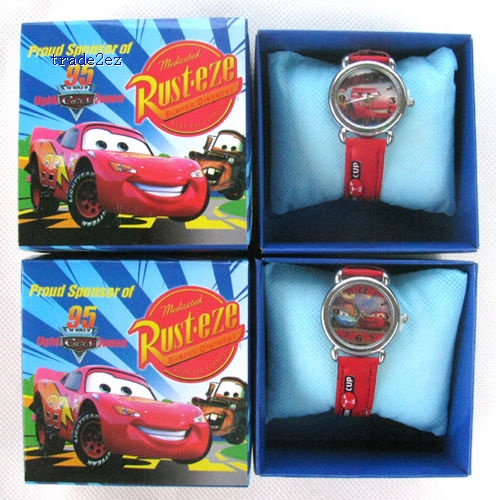 Pixar Car 95 Lovely Cute Cartoon watch Children's Watches