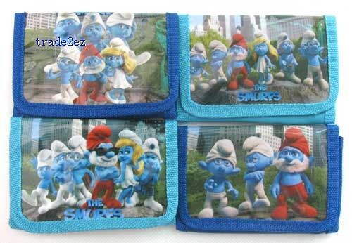 The Smurfs Wallets Purses fashion wallet