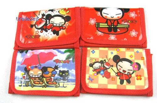 Pucca Girl`s cartoon Purses coin Wallet