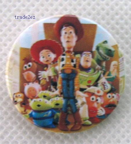 Toy Story 3 CM pin badge,brooch,Cartoon & Anime characters Accessories,Children's toys