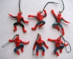 Spiderman Cell Phone Charm Figures Party favor