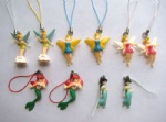 Tinker bell Princess figures mobile phone Strap Charms