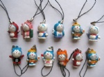 Doraemon Cell mobile phone chain straps charms