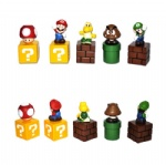 High Quality PVC 5 Super Mario Bros Action Figures New