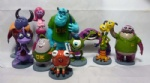 New 10pcs set Monsters, Inc.Collection figure 4
