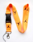 Jordan lanyard orange black