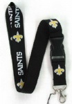 New Orleans Saints Phone Strap NECK Hook Lanyard Charm
