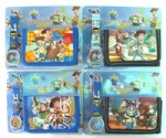 toy story wallet and watch set new