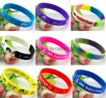 One Direction silicone bracelet small