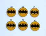 batman round pendant new