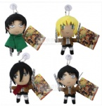 Attack on Titan plush toy 4 pcs set