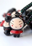 Cartoon Pucca Bell Charm Strap 3-Style