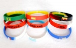 Football team silicone wristbands