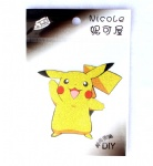 Anime Pocket Monster Yellow Pikachu Iron on transfer Appliques~