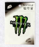 Monster Energy Drink Logo DIY Patch Sticker
