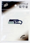 NFL Team Seattle Seahawks Logo DIY Patch Sticker