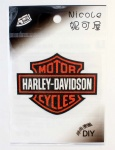 Harley Davidson Motorcycle Logo DIY Patch Sticker