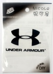 Clothing Band Under Armour Logo DIY Patch Sticker